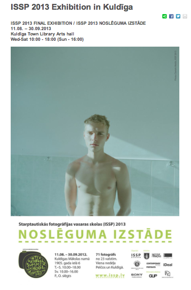 Collective Exhibition in Kuldiga, Latvia